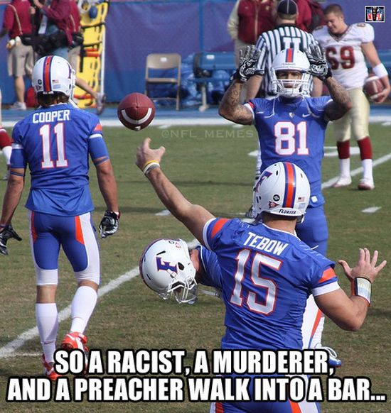 Florida Gator Football Alumni Meme Bar Joke